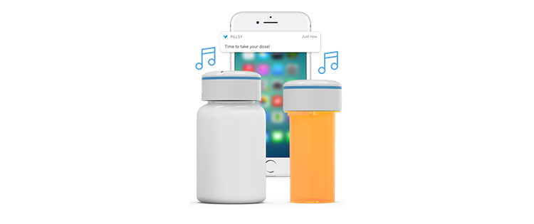 Pillsy smarte Tablettendose