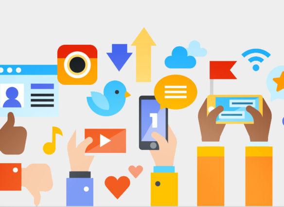 social Media Auftritt